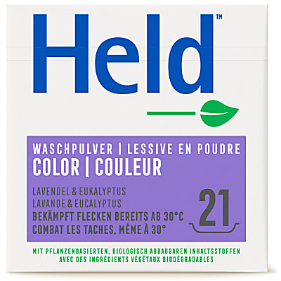 Held by ecover Buntwaschmittel Colora 1.575kg