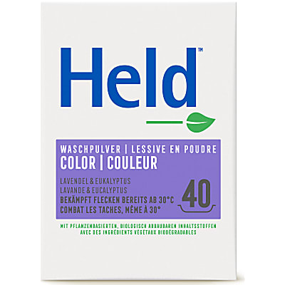 Held by ecover Buntwaschmittel Colora 3kg