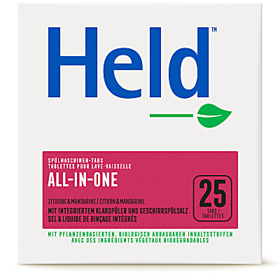 Held by ecover Geschirrspültabs All-in-One 25x20g